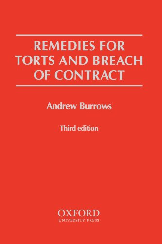 9780406977267: Remedies for Torts and Breach of Contract