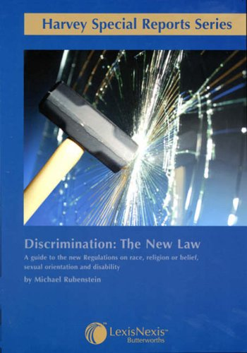 Discrimination: The New Law, a Guide to: Michael Rubenstein