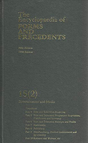 9780406980830: The Encyclopaedia of Forms and Precedents: Volume 15 (2)