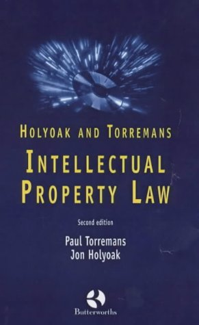 9780406981332: Intellectual Property Law (Butterworth Student Statutes)