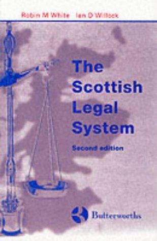9780406981387: The Scottish Legal System