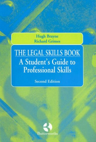 9780406982483: The Legal Skills Book: A Student's Guide to Professional Skills