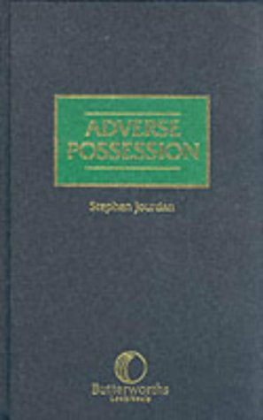 Adverse Possession: Jourdan, Stephen