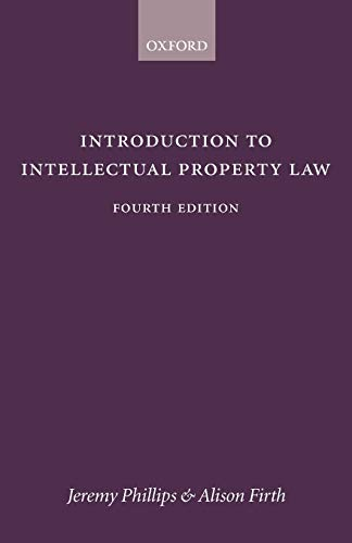 9780406997579: Introduction to Intellectual Property Law