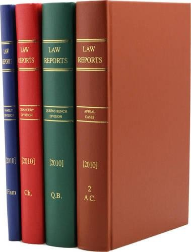 9780406998644: The Law Reports Complete Set 1865-2006