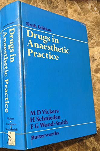 9780407155053: Drugs in Anaesthetic Practice