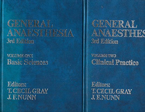 9780407185531: General Anaesthesia