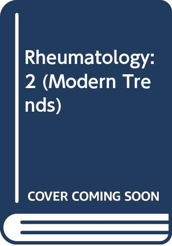 Modern Trends in Rheumatology-2 (0407316019) by Hill, A. G.