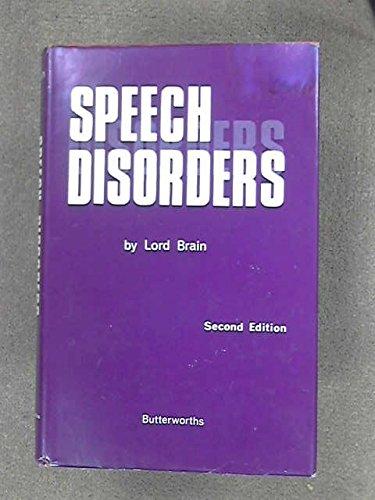 9780407398504: Speech Disorders