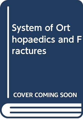 9780407406537: System of Orthopaedics and Fractures
