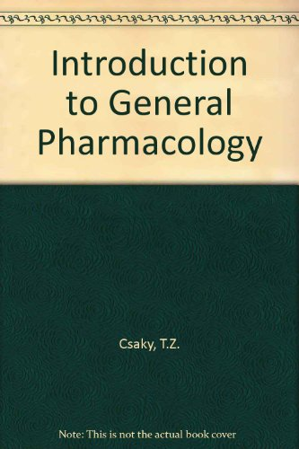 9780407931503: Introduction to General Pharmacology