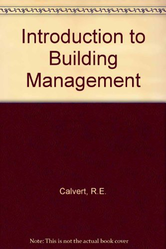 9780408000024: Introduction to Building Management