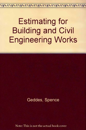 9780408000468: Estimating for Building and Civil Engineering Works