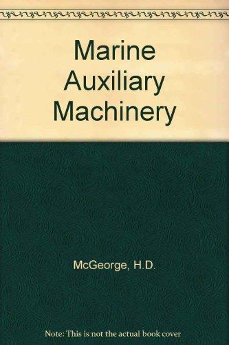 9780408000550: Marine auxiliary machinery
