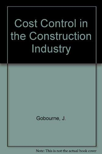 9780408000871: Cost Control in the Construction Industry