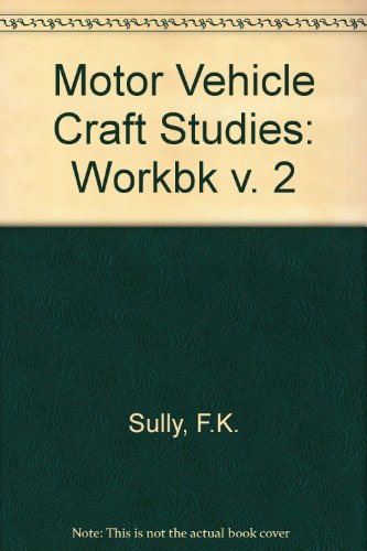 9780408001397: Motor Vehicle Craft Studies: Workbk v. 2