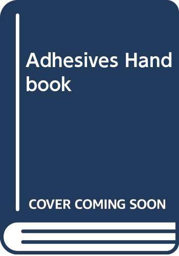 9780408002103: Adhesives Handbook