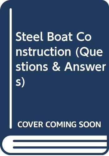 9780408003278: Steel Boat Construction
