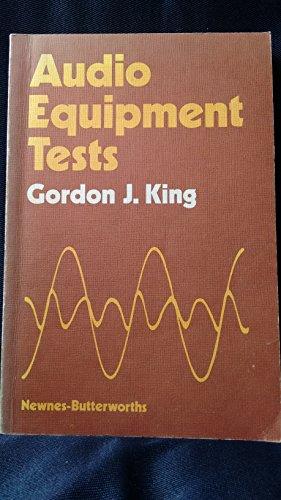 9780408003360: Audio Equipment Tests