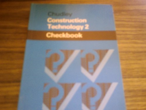 9780408006033: Construction Technology: Level 2 (Checkbooks)