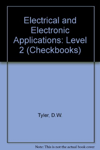 9780408006163: Electrical and Electronic Applications: Level 2 (Checkbooks)