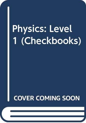 9780408006293: Physics: Level 1 (Checkbooks)