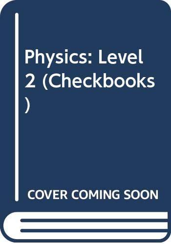 9780408006309: Physics: Level 2 (Checkbooks)