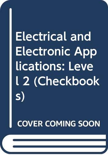 9780408006613: Electrical and Electronic Applications: Level 2 (Checkbooks)