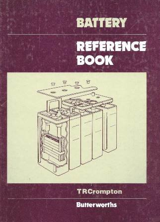 9780408007900: Battery Reference Book
