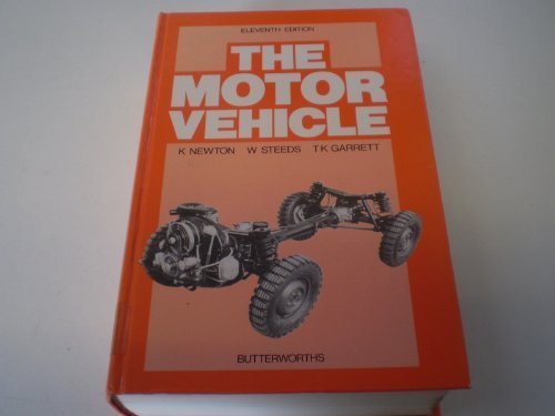 9780408010825: The motor vehicle