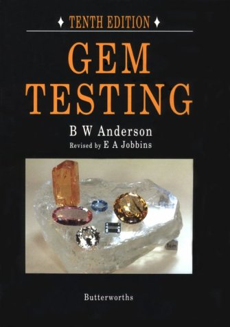 9780408023207: Gem Testing, Tenth Edition