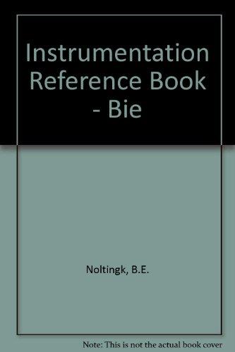 9780408064262: Instrumentation Reference Book - Bie