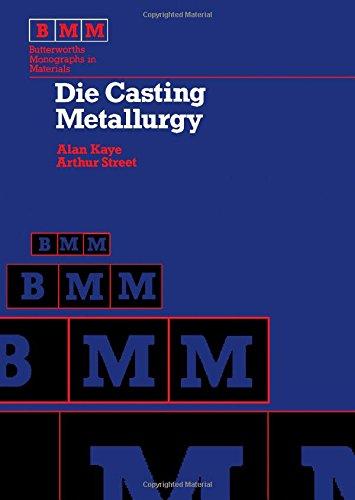 9780408107174: Die Casting Metallurgy (Butterworths monographs in materials)
