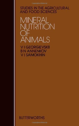 9780408107709: Mineral Nutrition of Animals (Studies in the agricultural & food sciences) (English and Russian Edition)
