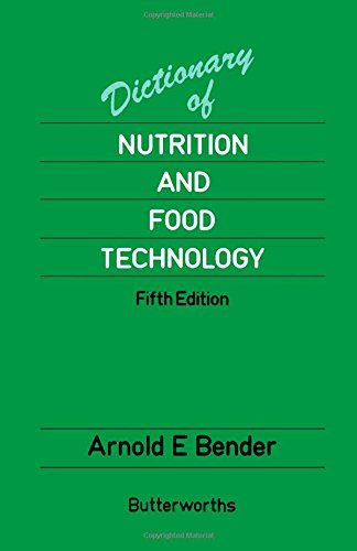 9780408108553: Dictionary of Nutrition and Food Technology