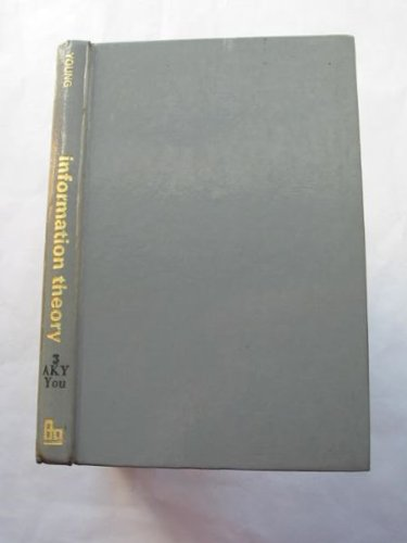 9780408229302: Information Theory