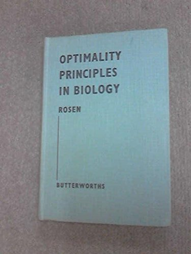 9780408282505: Optimality Principles in Biology