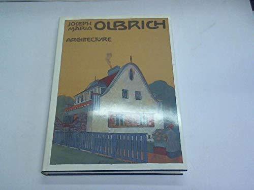 9780408500388: Joseph Maria Olbrich Architecture