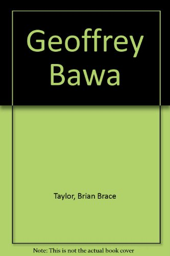 9780408500449: Geoffrey Bawa: Architect in Sri Lanka
