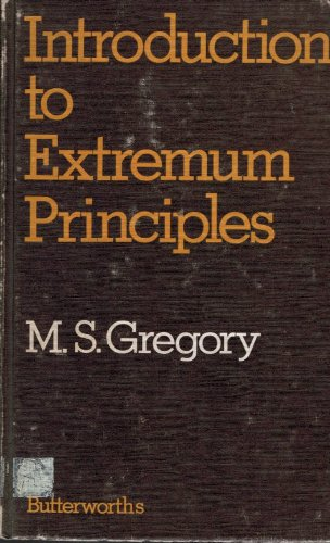 An Introduction to Extremum Principles: Gregory, M S