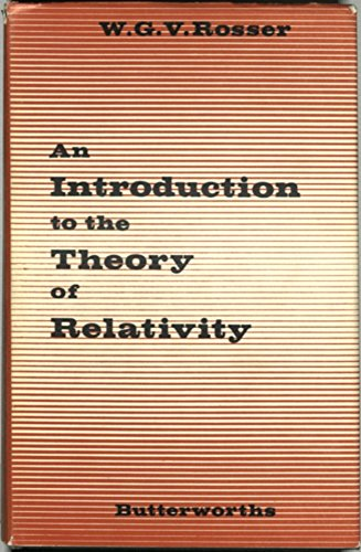 9780408557009: Introduction to the Theory of Relativity
