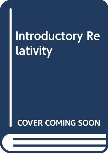 9780408558501: Introductory Relativity