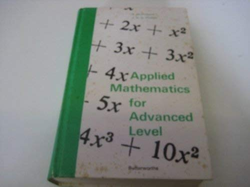 9780408700016: Applied Mathematics for Advanced Level