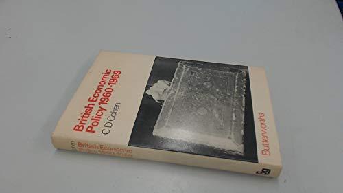 9780408701877: British Economic Policy, 1960-69