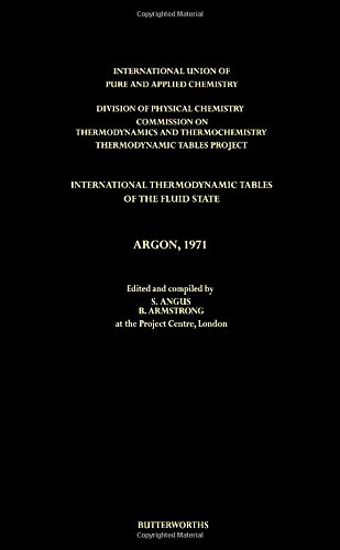 International thermodynamic tables of the fluid state: Thermodynamic Tables Project