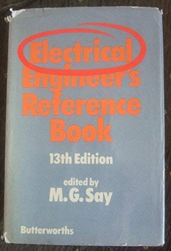 9780408702898: Electrical Engineer's Reference Book