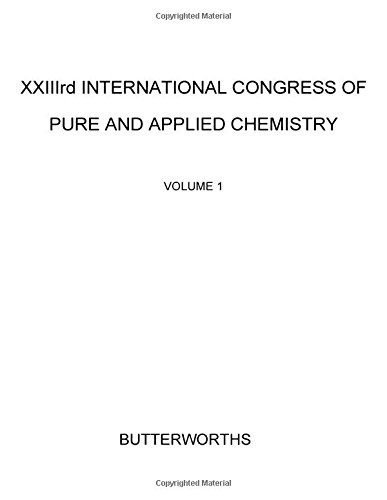 XXIIIrd International Congress of Pure and Applied Chemistry (0408703156) by International Union of Pure and Applied Chemistry