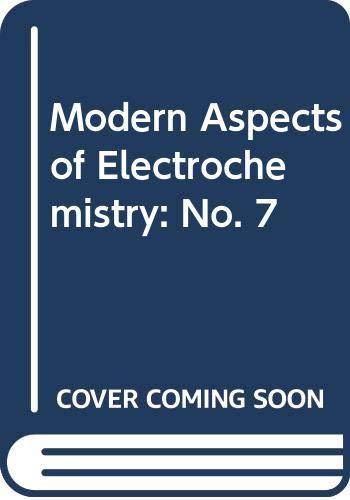 9780408703475: Modern Aspects of Electrochemistry: No. 7