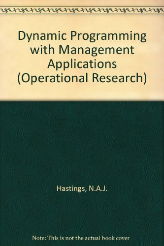 9780408703857: Dynamic Programming with Management Applications (Operational Research)