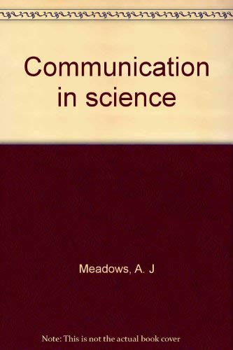 9780408705721: Communication in Science